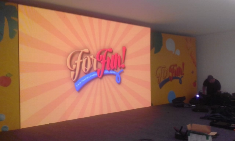 Comprar Painel de Led Indoor 4mm Praia de Maresias - Painel de Led 3 Indoor