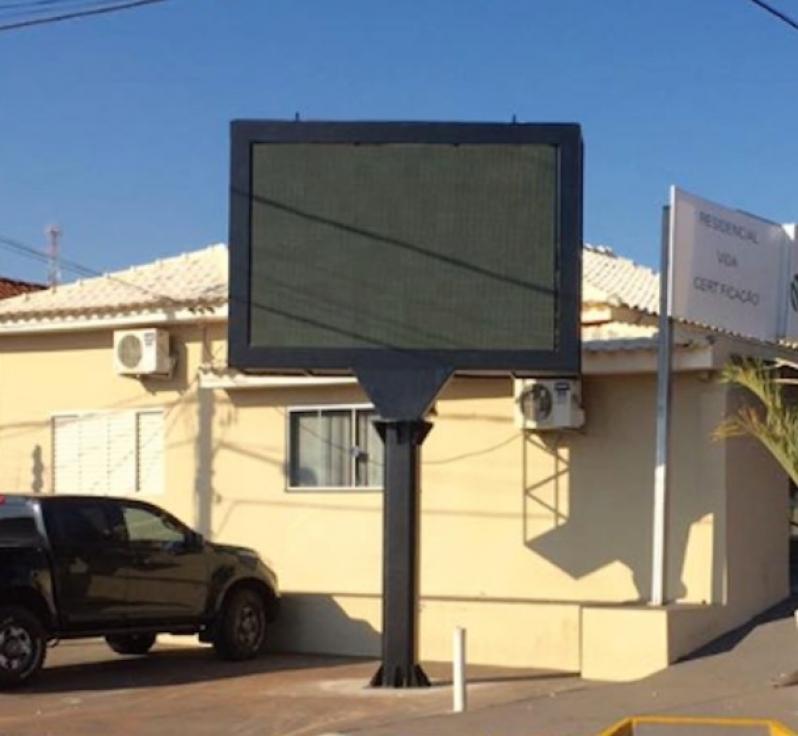 Custo para Locação de Painel de Led Outdoor Biritiba Mirim - Locação de Painel Led Propaganda