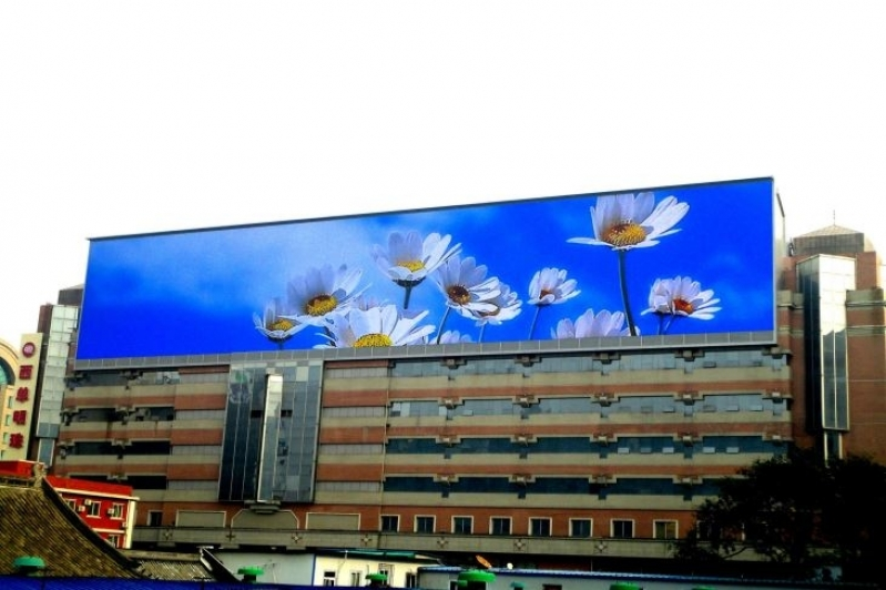 Onde Tem Painel de Led Externo Outdoor Carapicuíba - Painel Led Outdoor Propaganda