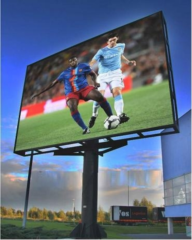 Onde Tem Painel Led Outdoor Propaganda Alphaville Industrial - Painel Led Outdoor para Eventos