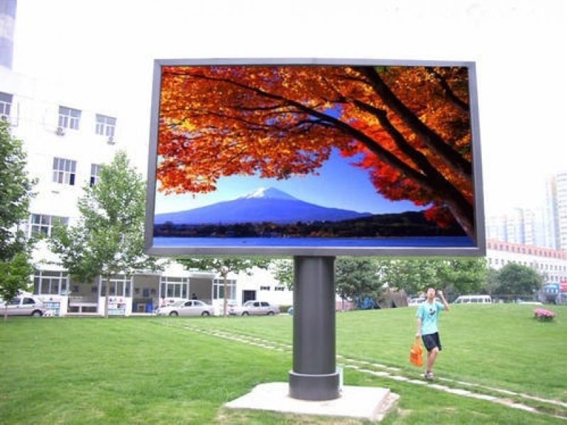 Painel de Led Outdoor P10 Valor ABCD - Painel Led Outdoor