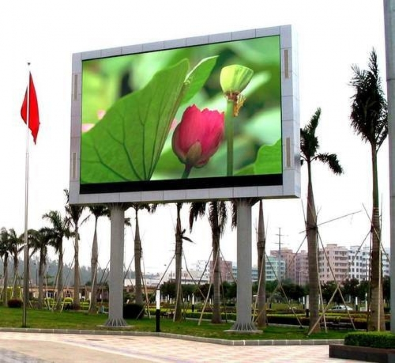 Painel de Led Outdoor Alphaville Industrial - Painel Led Outdoor de Propaganda