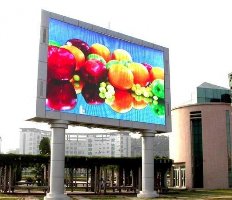 Painel Led Outdoor de Propaganda Sorocaba - Painel Led Outdoor P5