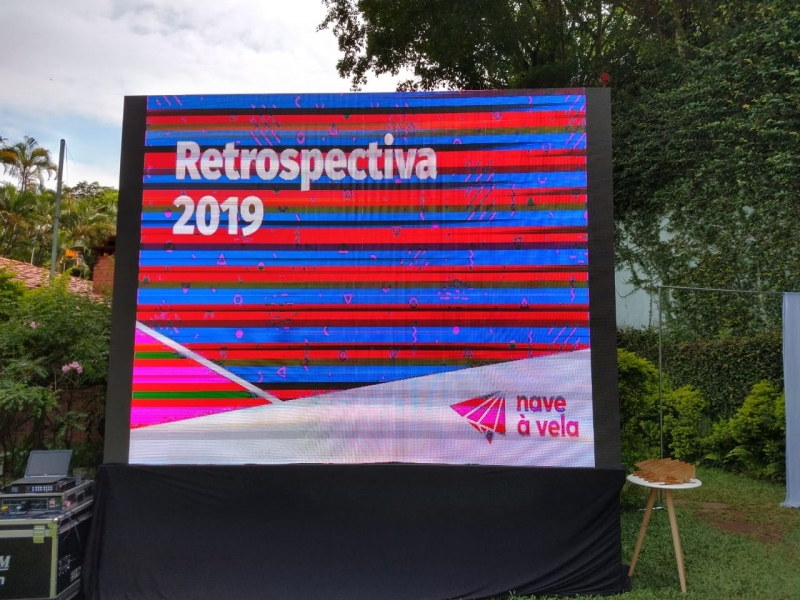Painel Led Outdoor P5 Valor Litoral Paulista - Painel Led Outdoor P5