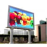empresas de publicidade em painel em led outdoor Cubatão