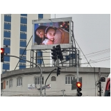painel de led externo outdoor valor Praia da Barra do Say
