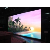 painel de led indoor p6 Praia da Barra do Say