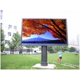 painel de led outdoor p10 valor Praia da Barra do Say