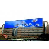 publicidade em painel de led externo outdoor