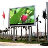 publicidade em painel led outdoor de propaganda Santos